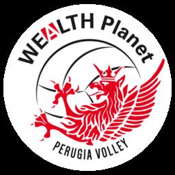 Wealth Planet Perugia Volley logo